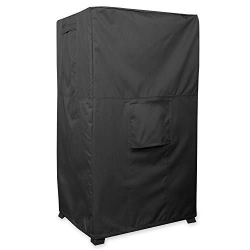 Smoker Cover - TITAN Series - Waterproof Heavy Duty Square Smoker Protector (17