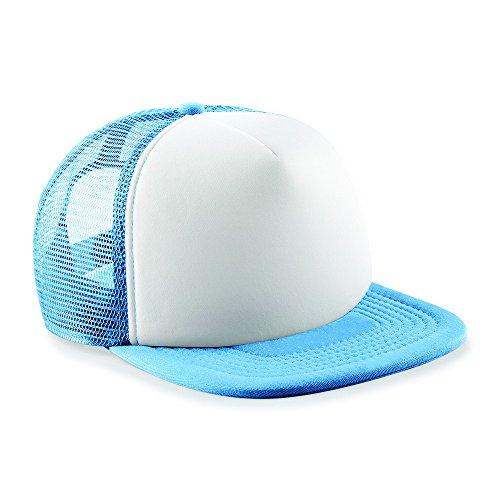 Beechfield - Casquette de Baseball - Homme Bleu - Sky Blue / White