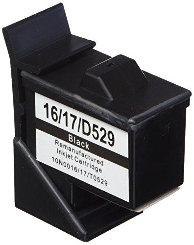 Prestige Cartridge No. 16 Druckerpatrone für Lexmark i3 X1100 X1150 X1180 X1240 X1250 X1270 X1290 X2230 X2250 X74 X75 Z13 Z23 Z24 Z25 Z33 Z34 Z515 Z602 Z605 Z640 Compaq IJ650 IJ652 schwarz -