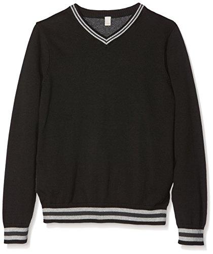 Esprit Kids Baby Jungen Pullover RI1804G Schwarz (Black 001), One size (Herstellergröße: M)