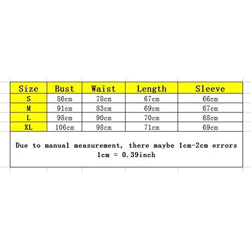 Camicetta Donne Sciolte - Natale Alce Tshirt Manica Lunga Top Collo Rotondo Pullover Stampa Autunno Primavera Nero Blu Bianco S / M / L / XL Yuxin Nero