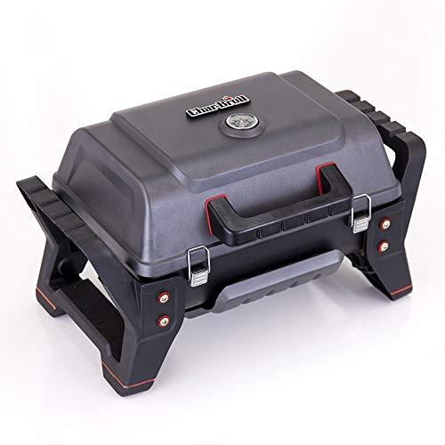 Char-Broil Grill2Go Parrilla Mesa propano/butano 2800W Negro, Rojo - Barbacoa 2800 W, Parrilla, propano/butano...