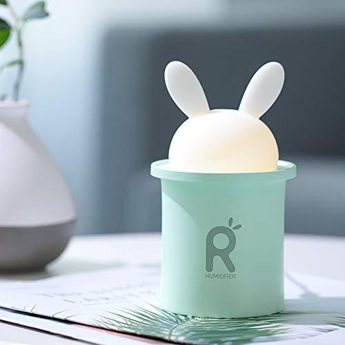 UFACE Umidificatore Diffusore d'Aria Purificatore Nebulizzatore Meng Rabbit LED Casa Silenzioso Camera d'Aria Dormitorio Studente Piccola Batteria USB Portatile Idratante Wireless Piccola