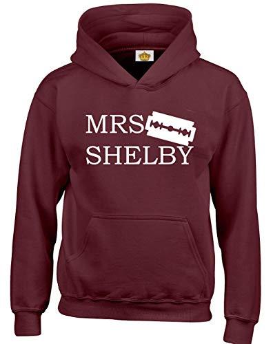 Crown Designs Mrs Shelby Programa de Television de Accion Inspirado  Sudaderas Unisex de Regalo para Hombres 6394b67c38c