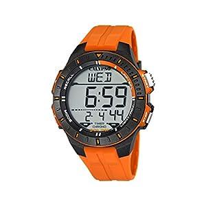 Calypso watches K5607/1 – Reloj Hombre Naranja Sumergible, color
