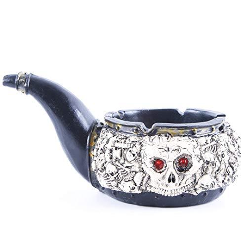 BUG-LPH Resin Aschenbecher Taro - Persönlichkeit Geschenk Home Decoration Resin Shantou Pipe
