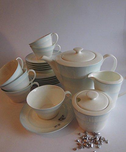 Sonderaktion Dibbern Twenty Shadow - Kaffee-,Teeservice 6 Personen - NEU
