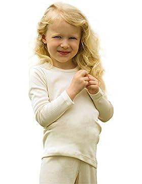 Kinder Unterhemd langarm, Wolle