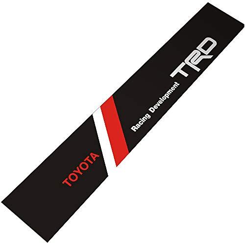 Demupai - Windschutzscheibe Banner Aufkleber vinyl - Aufkleber für TRD  Racing Development (Black Background) ff19e983cd4e