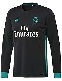 adidas A JSY LS Camiseta 2ª Equipación Real Madrid 2017-2018-Champions  League 1d6483d332986