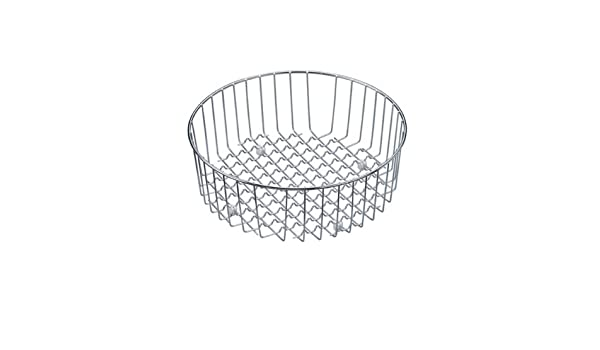 6f4f9a54042a Franke ER-50S Esprit Round Stainless Steel Drain Basket  Amazon.in  Home  Improvement