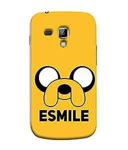 PrintVisa Designer Back Case Cover for Samsung Galaxy S Duos 2 S7582 :: Samsung Galaxy Trend Plus S7580 (esmile cute cartoon of dog big eyes)