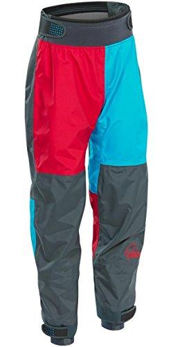 Palm Kajak oder Kajak - Rocket Kids Youth Junior Kinder-Jugend-Kajakhose Aqua Red - Unisex - Paddelausrüstung für Kinder