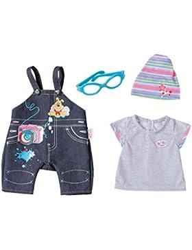 Zapf Creation 822210 - Baby Born Deluxe Jeans Kollektion, Sortiert