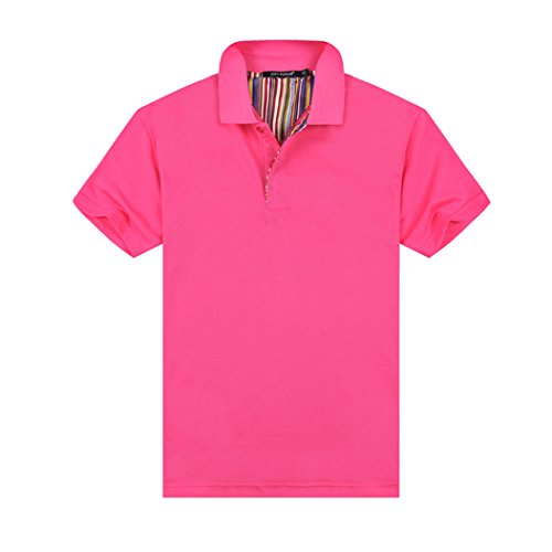 MTTROLI Herren T-Shirt Hot Pink