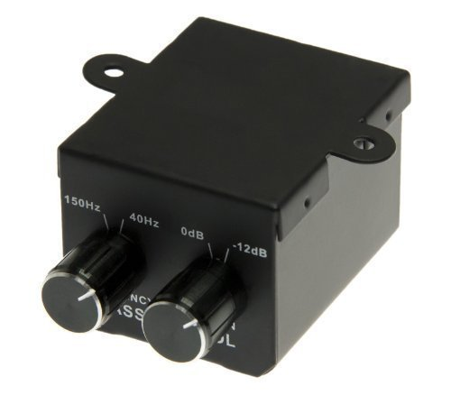 Mini bass commande control amplificateur adaptateur rCA pour voiture actif régulateur amp