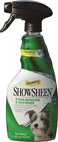 Absorbine 450160 Show Sheen Stain Remover und Whitener, 475 ml