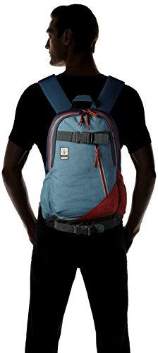 Volcom Unisex-Erwachsene Substrate Backpack Rucksack, 18 x 32 x 47 cm Blau (Ash Blue)