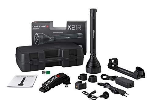 Zweibrüder Ledlenser Unisex- Erwachsene X21R Taschenlampe, Mehrfarbig, 1