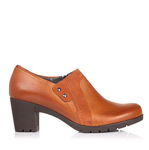 PITILLOS 3961 Zapato Abotinado Piel Tacon