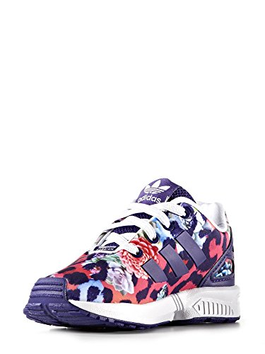 Adidas Zx Flux El I, Baskets mode unisex Aubergine