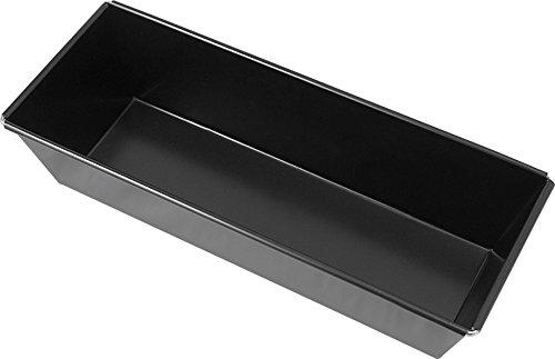 Unimet 2833ho Moule à Cake Aluminium, Noir, 25 x 25 x 10 cm