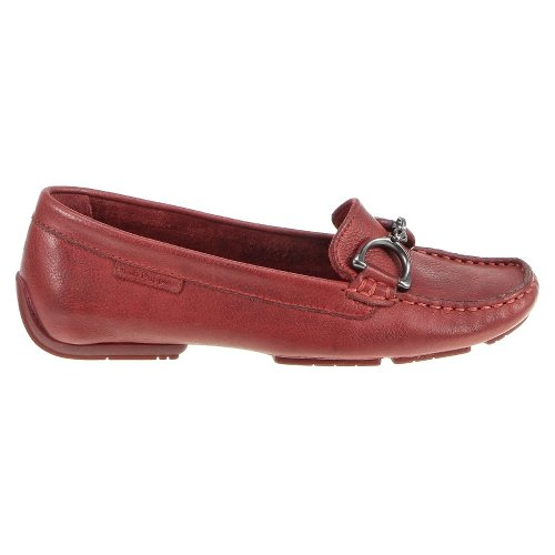 Hush Puppies Cora Slip-on Mocassins Red Leather