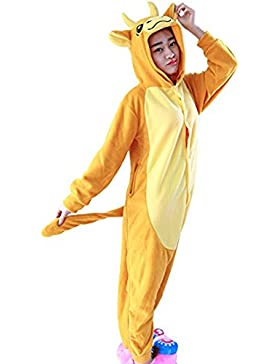 Casa Adulto Unisex Kigurumi Pigiama Anime Onesie Cosplay Halloween Costume Cartone Animale Pigiama S/M/L/XL