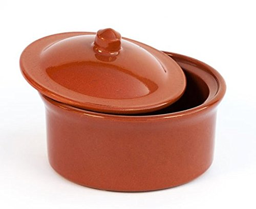 Preisvergleich Produktbild Schmortopf aus Terrakotta Diam. 13 cm – hoch. 6, 5 cm