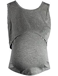 Ineternet Enceinte Vêtements de Maternité Nursing Tops T-shirt Allaitement Vest