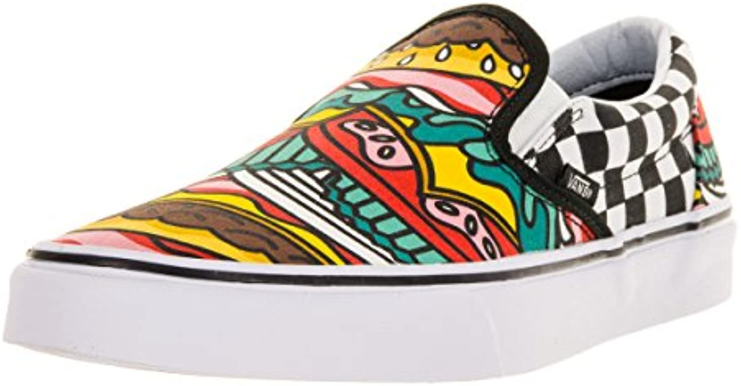 Zapatillas Vans – Classic Slip-On (Late Night) Burger multi