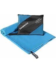 Youngdo Gran Toalla de Viaje 180 x 90 cm Toalla Deportiva Microfibra Secado Rápido Ligera Compacta Absorbente para Actividades al Aire Libre (Azul)