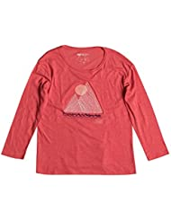 Roxy RG Fashion - Camiseta de manga larga para mujer, color rosa, talla M