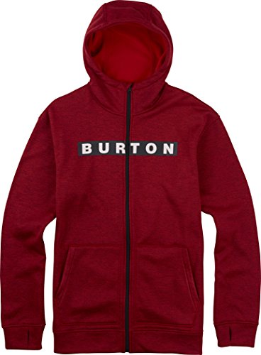 Burton Herren Hoodie MB Oak FZ True Black/Burner