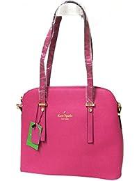 Hema Arts & Crafts Designer Women's Hand Held Bag   Ladies Stylish PU Handbags   Office Bags For Girls (PINK)