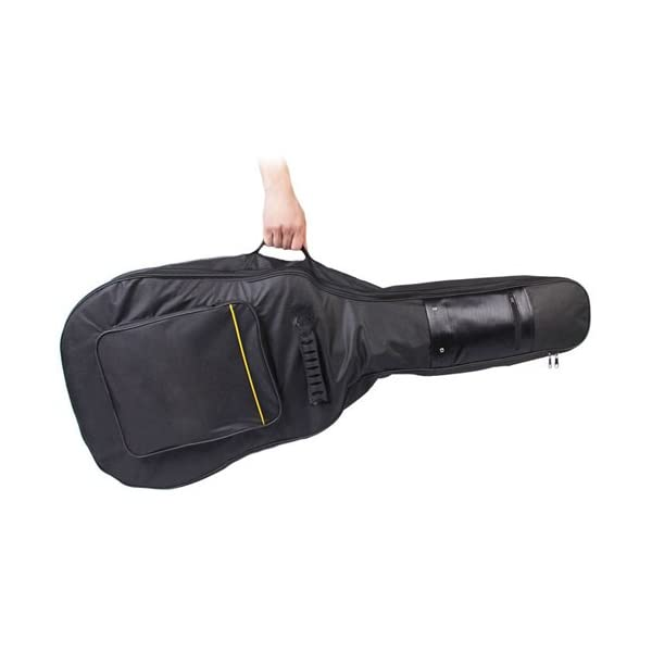 Accessotech - Custodia imbottita per chitarra acustica e classica 4/4