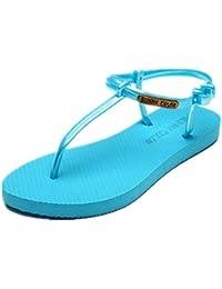 de las mujeres planas deportivo playa sandalia sandalias de los zapatos atléticos casuales , 10 , 39