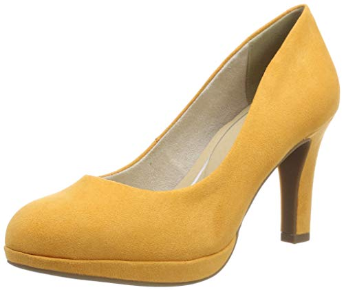 MARCO TOZZI Damen 2-2-22417-22 Plateaupumps, Orange (Mango 637), 39 EU