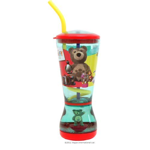 Vogue International Little Charley Bear Glitter Dome - Vaso para hacer burbujas