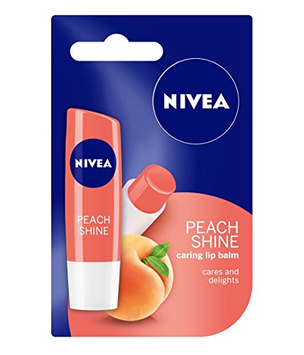 Nivea Fruity Shine, 4.8g (Peach)