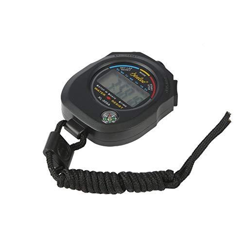 Cronometro digitale sportivo LCD professionale con cronografo impermeabile