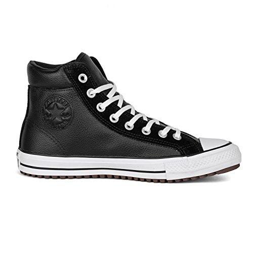 Converse Unisex CT AS Boot PC HI Schwarz Leder/Wildleder Sneaker 42.5