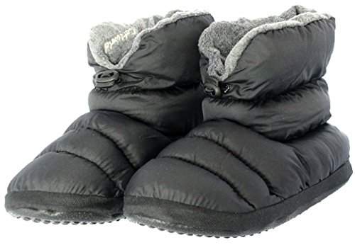 Cotswold , Damen Unisex Erwachsene Mädchen Herren Jungen Durchgängies Plateau Sandalen mit Keilabsatz Schwarz