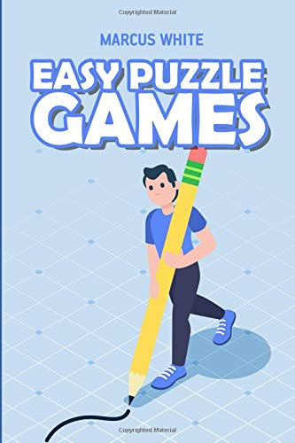 Easy Puzzle Games: Killer Sudoku Puzzles (Challenging Logic Puzzles) por Marcus White