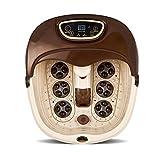 FZG Automatisches Massagefußbad, Beheiztes Elektrisches Massage-Heizfußbecken (1,6 M Netzkabel)