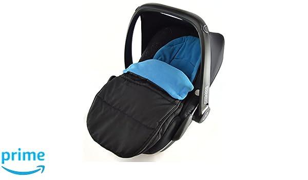 Autositz Fu/ßsack//COSY TOES kompatibel mit ABC Design New Born Autositz Ocean Blau