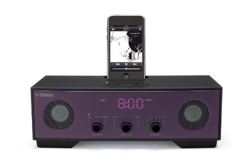 Yamaha TS-X80 Kompaktanlage mit iPod Dock violett