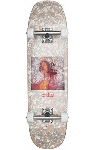 Globe Skateboards Hammer Skateboard Cruiser, komplett, Weiß Pearl/psychotropics