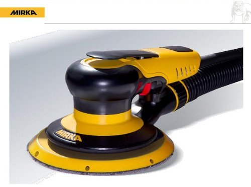 Mirka 8995650111 Schleifmaterialien PROS 650CV 150-5, 0 Hub, 48 L