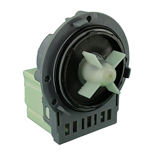 Spares2go type Askoll Pompe de vidange pour machine à laver (inférieur arrière Bornes)